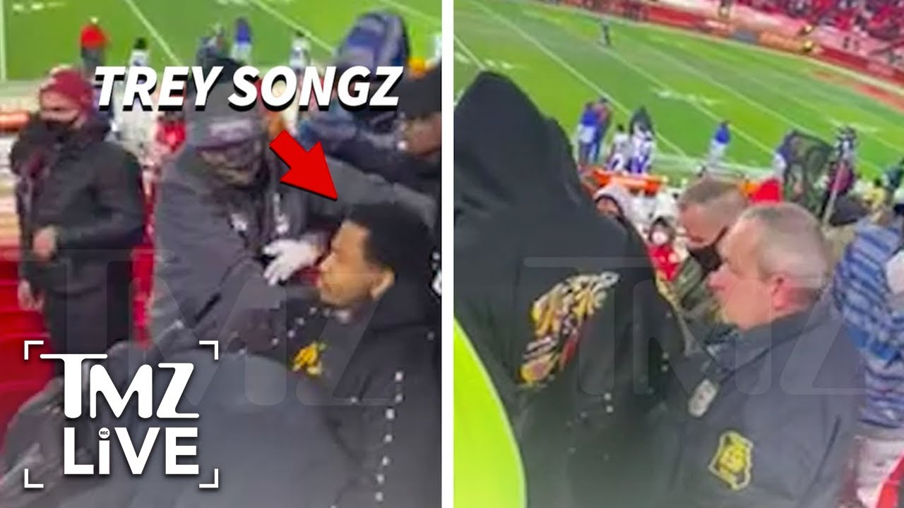Trey Songz Arrest Started Because He Allegedly Refused to Wear a Mask   TMZ Live
