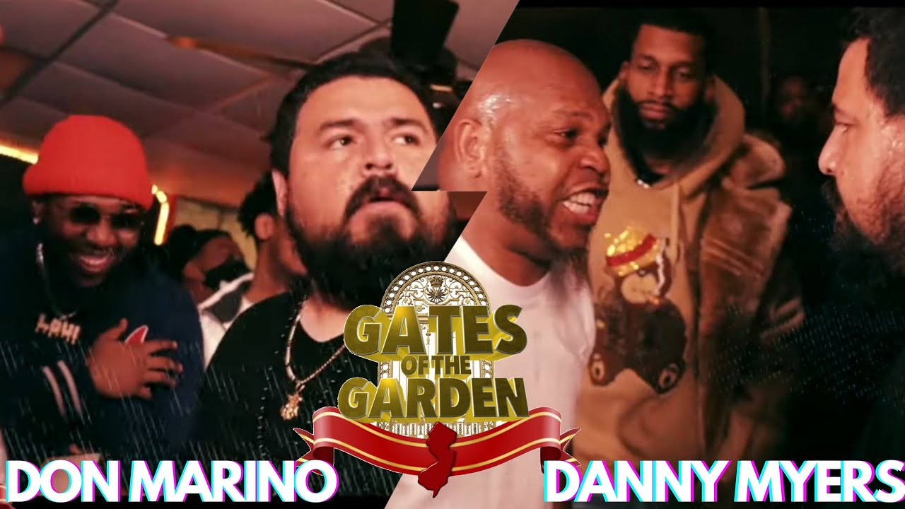 DANNY MYERS VS DON MARINO | GATES OF THE GARDEN | (AVAILABLE NOW ON VOD) | LINK IN DESCRIPTION
