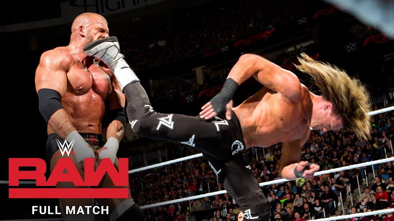 FULL MATCH - Triple H vs. Dolph Ziggler: Raw, March 14, 2016