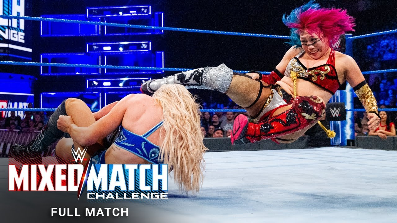 FULL MATCH - Miz & Asuka vs. Roode & Flair: WWE Mixed Match Challenge, April 3, 2018