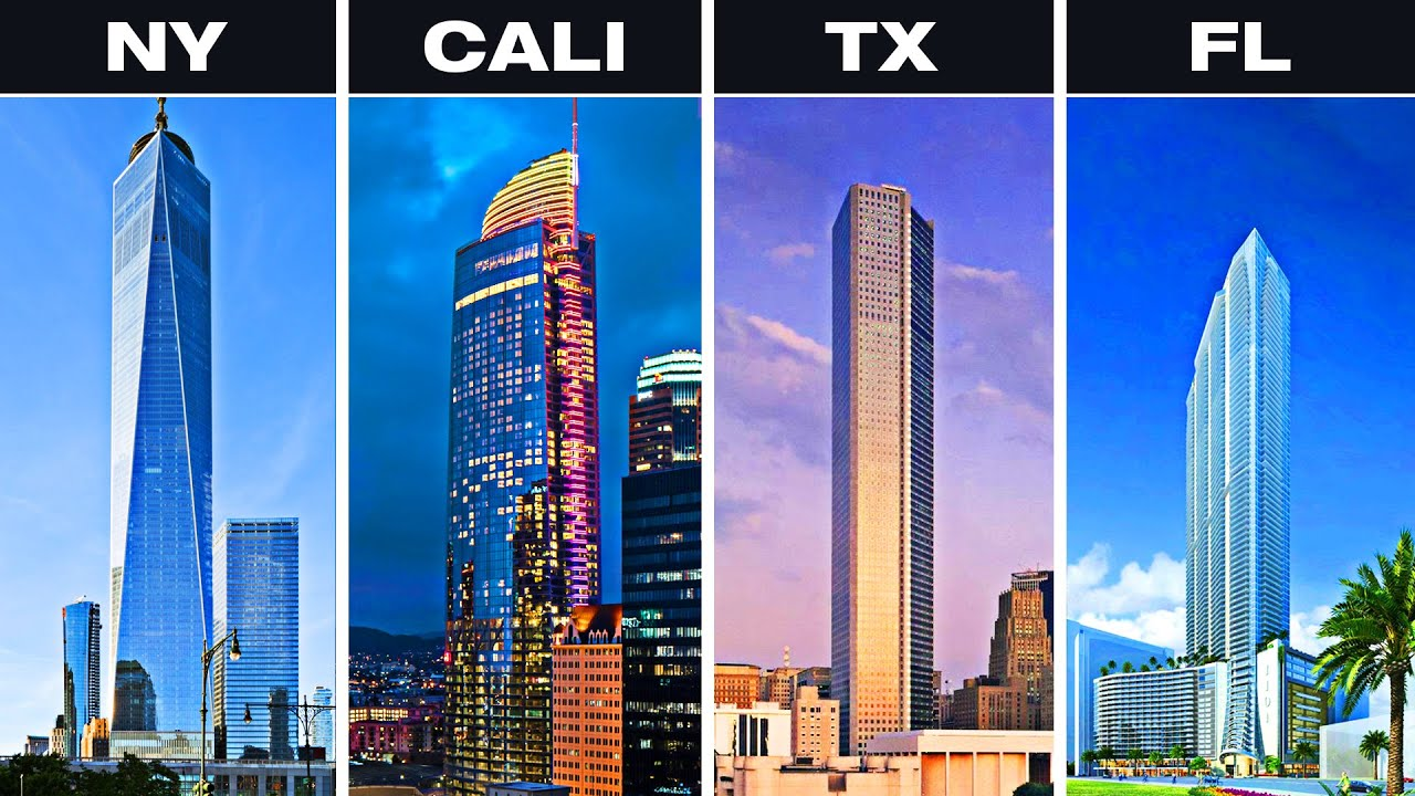 The Tallest Building In Each U.S. State