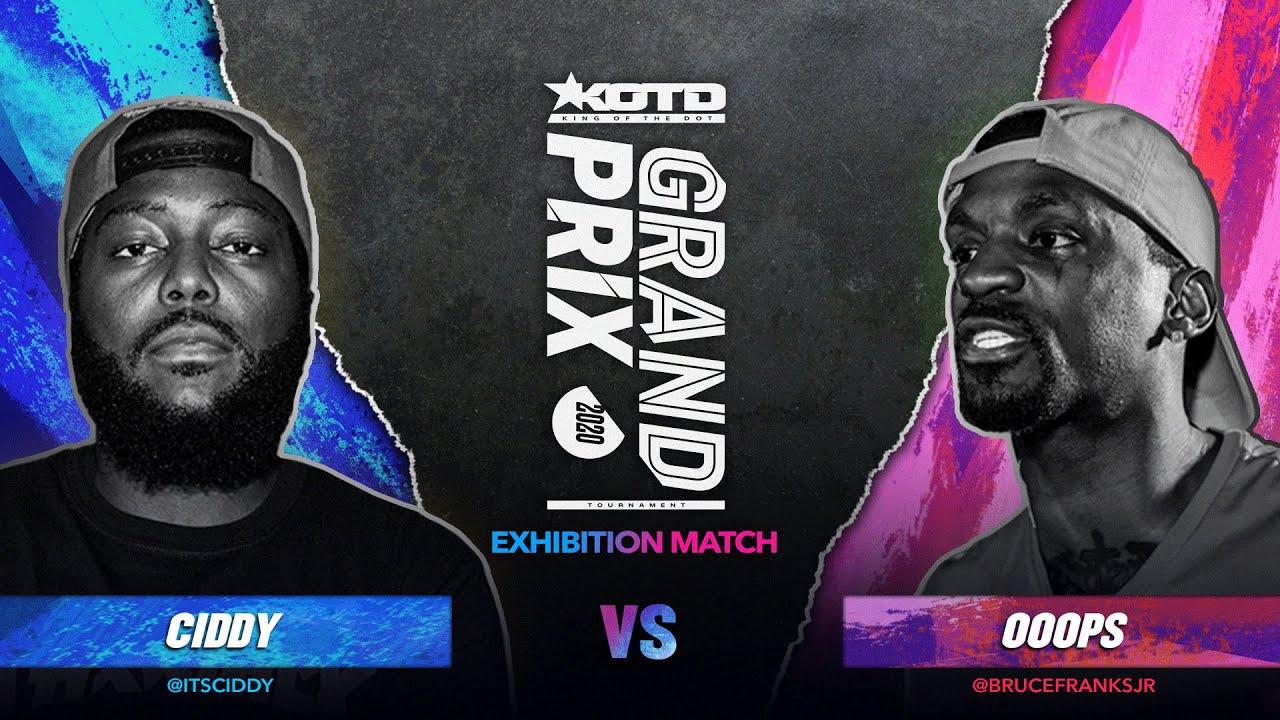 KOTD - Rap Battle - Ciddy vs Ooops | #GP2020