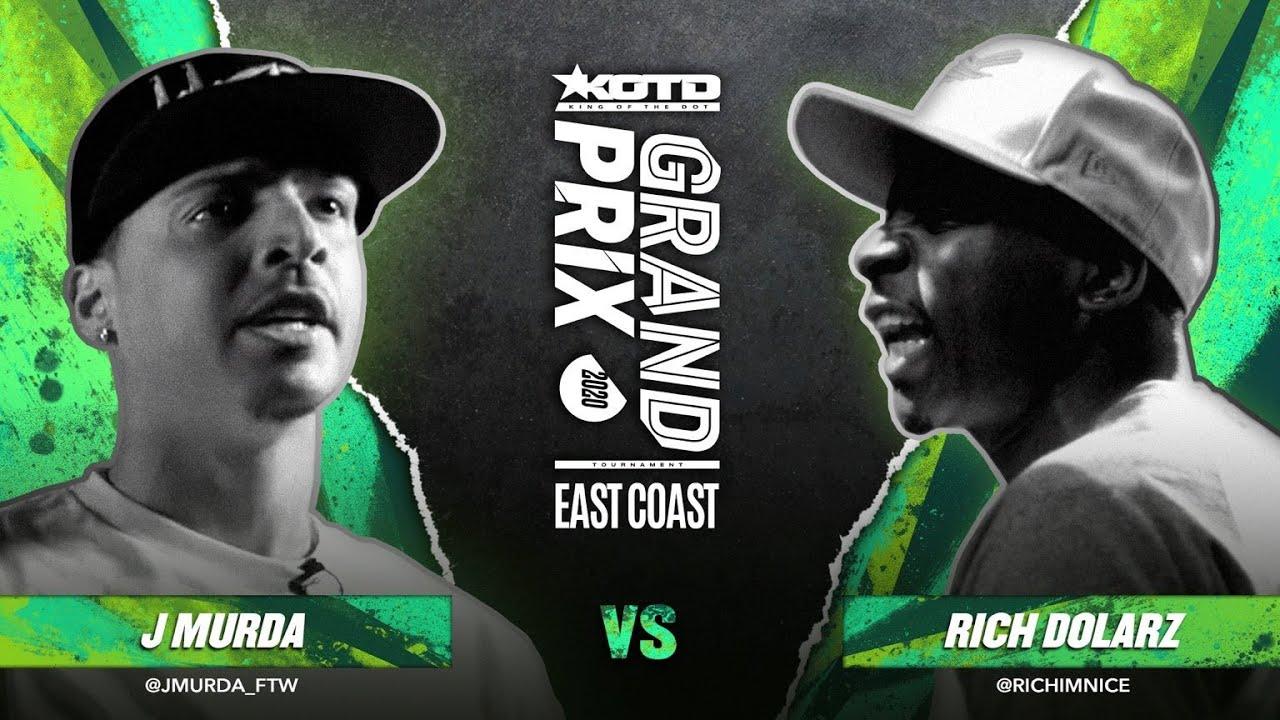 KOTD - Rap Battle - J Murda vs Rich Dolarz | #GP2020