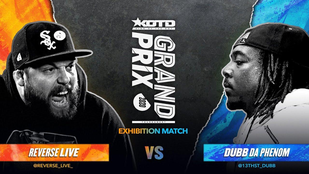 KOTD - Rap Battle - Reverse Live vs Dubb Da Phenom | #GP2020