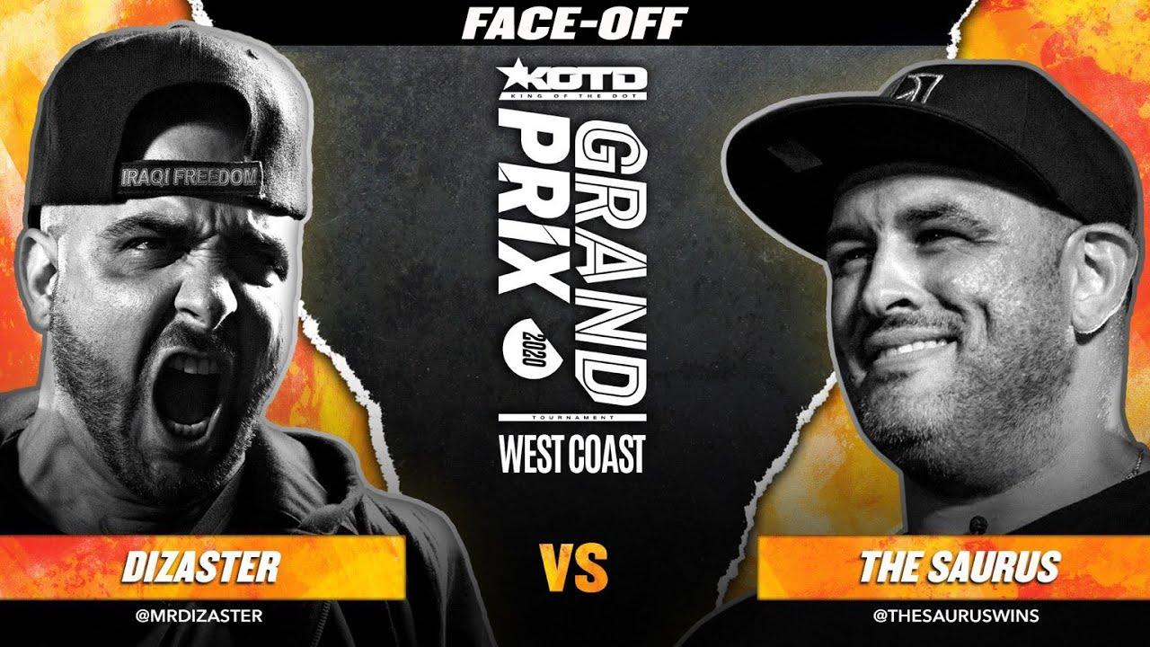 KOTD - Dizaster vs The Saurus Face-Off | #GP2020 R2
