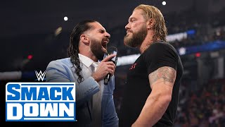 Edge looks to settle his score with Seth Rollins: SmackDown, July 23, 2021