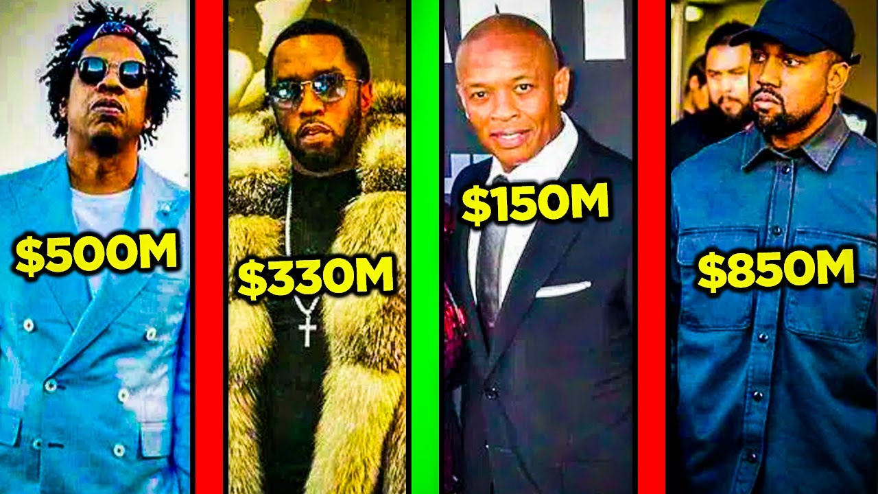 The Richest Rappers of 2021