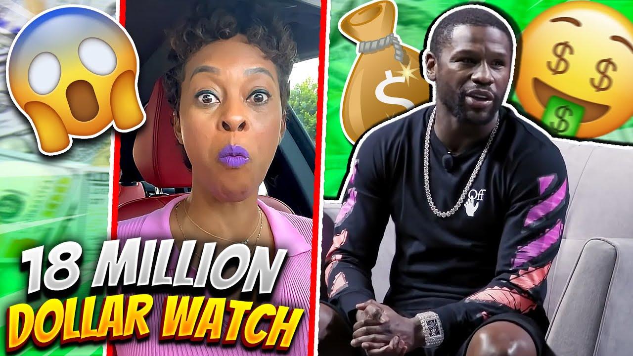 Floyd MayWeather Has A 18 Million Dollar Watch
