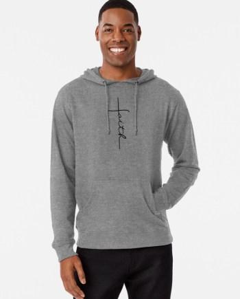 Faith Cross Lightweight Hoodie
