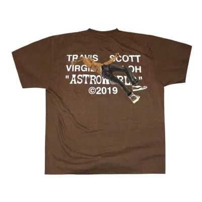 Travis Scott Virgil Abloh T-shirt