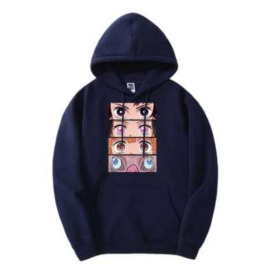 Demon Slayer Eyes Hoodie