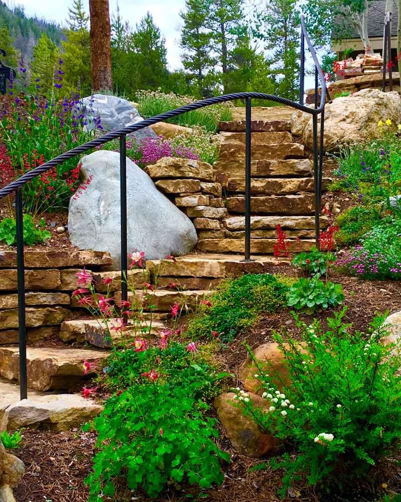 Breckenridge-landscaping