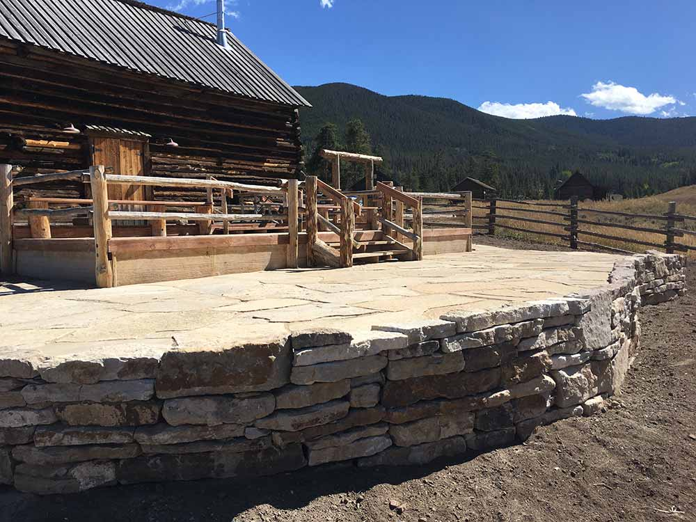 Patio and Rock Wall Builder, Summit County, Colorado