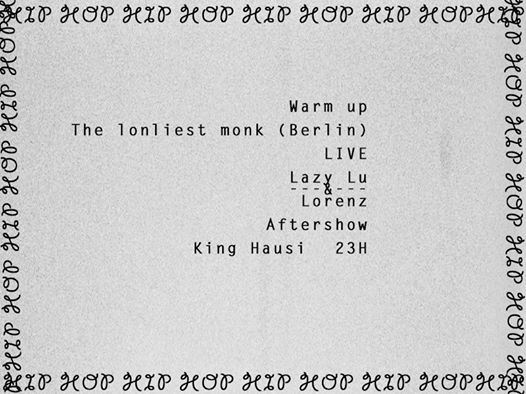 lazy lu lorenz live city club augsburg king hausi hood love humbug