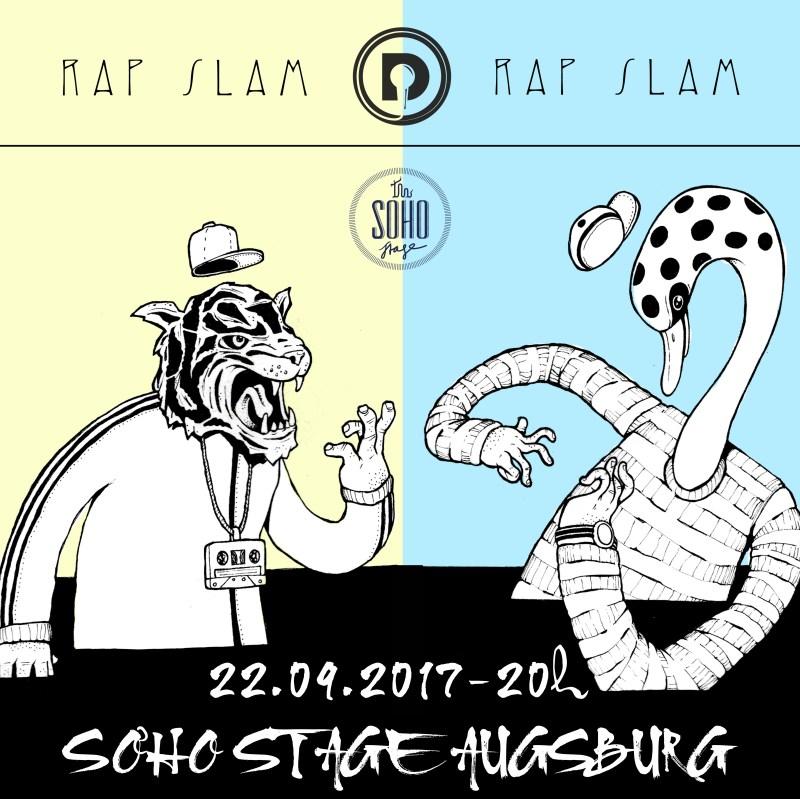 daily rap slam soho stage 2017