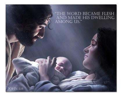 God Became a Child
