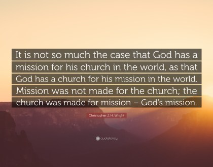 Mission: What If God Is Already There?