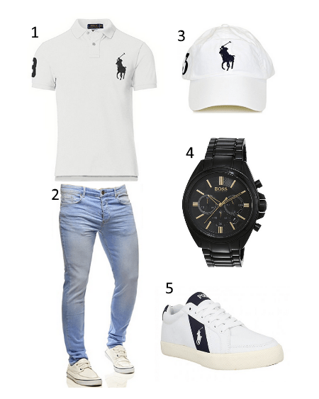 Casual Polo Outfit
