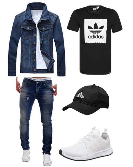 Jeansjacke Outfit
