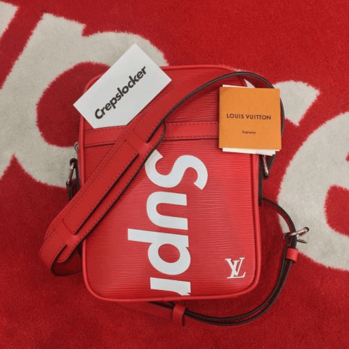 Supreme x lv messenger bag pusher tasche(1)