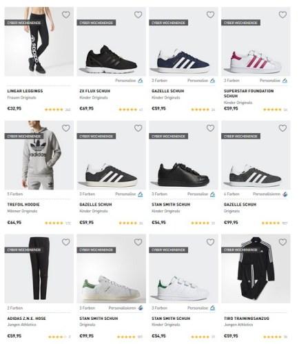 adidas Cyber Wochenende Sale
