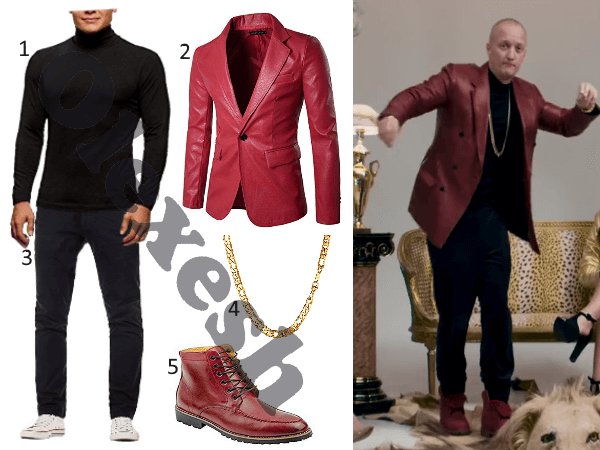 Olexesh Outfit aus ROLEXESH MOB Video