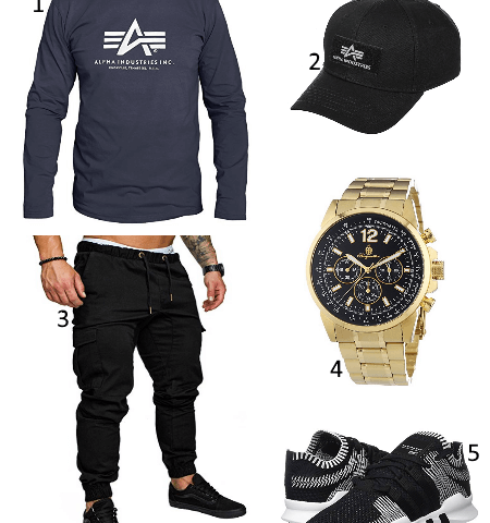 Alpha Industries mit Jogger Outfit