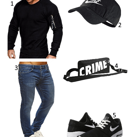Crime Pusher Bag Outfit
