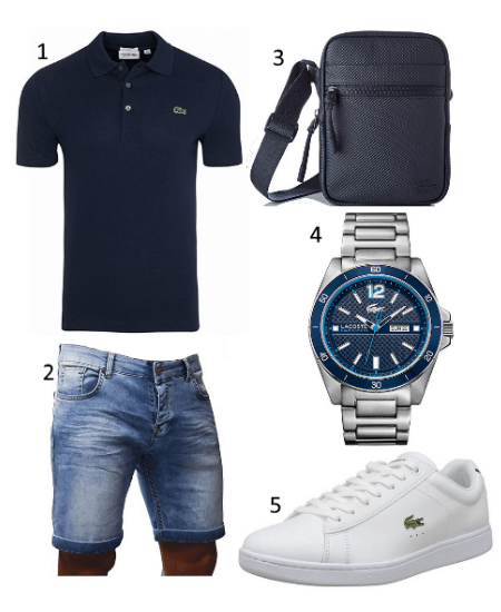 Lacoste Sommer Outfit