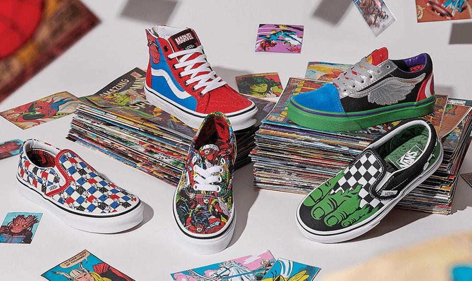 Marvel Vans Sneaker