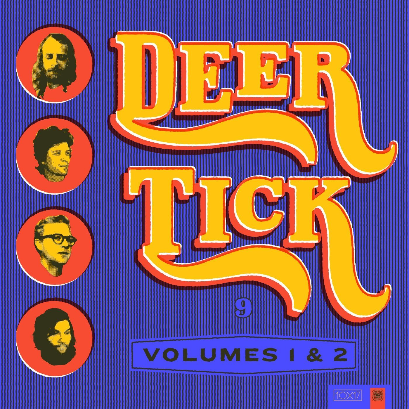 Deer Tick Album Art Reimagined by Amy Hood - Vintage Country Lettering