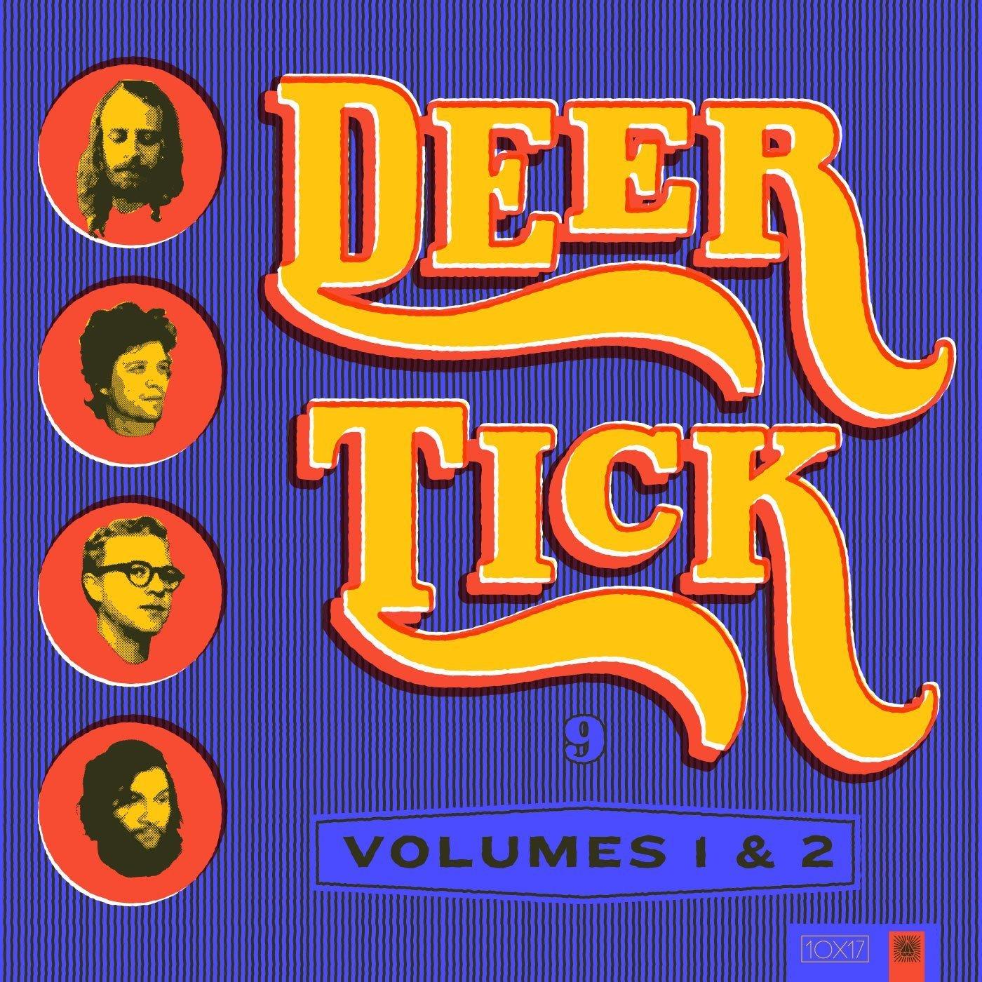 Deer Tick Album Art Reimagined by Amy Hood - Vintage Country Lettering