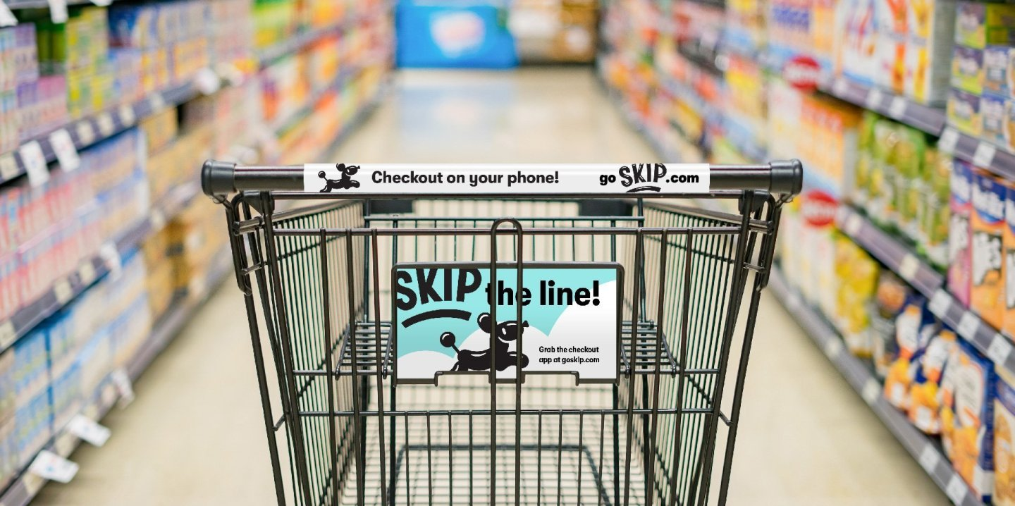 Skip checkout cart graphics - Identity design by Hoodzpah Branding Agency