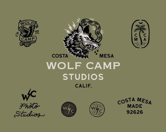 Wolf Camp Studios Logo and Identity System