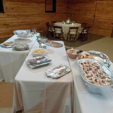 Food at the December 2018 Event