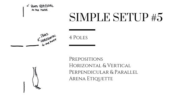 Prepositions and Geometry Terms in Simple Setup #5