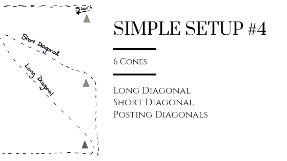 Diagonal Work (Lines & Posting) in Simple Setup #4