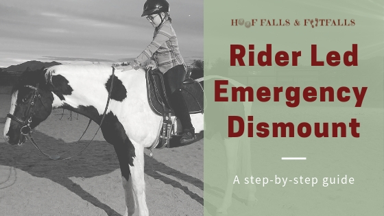 Emergency Dismount (Rider Led)