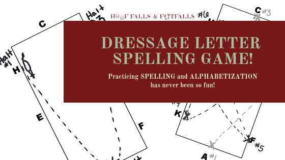 Dressage Letter Spelling Game
