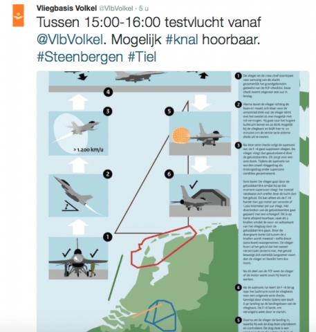 F-16 geluidsbarriere Hoogkerk knal