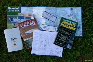 Always armed with my scorebook, prospect book, passport and other items, the Summer of Baseball was one heck of a fun time.