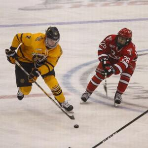 Victory for Quinnipiac hockey over RPI 73! hockey
