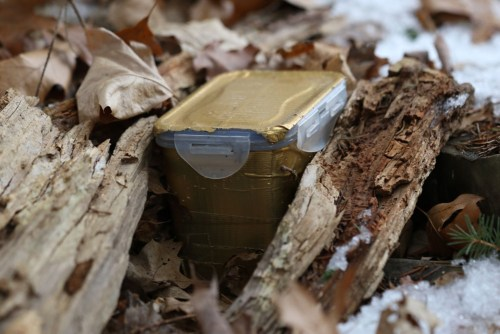 Finding the cache.
