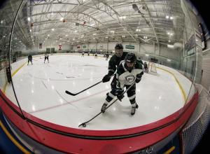 Up close and personal! hockey njcaa