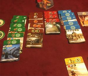 Finally played 7 Wonders Duel tonight! I enjoyed immensely boardgameshellip