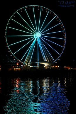 The Seattle Great Wheel was pretty cool to ride in.