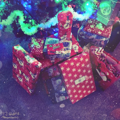 Gifts under the tree!