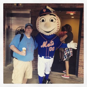 Despite not being a Mets fan, I couldn't resist this opportunity!