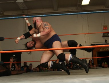 Brute VanSlyke's lariats are always fun to watch. #thanks2CW