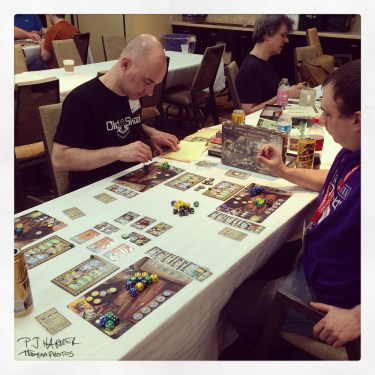 I enjoyed board gaming in 2015, especially a trip to my first convention.